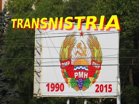Crossing the border to TRANSNISTRIA reaching the town of Bendery - Part I