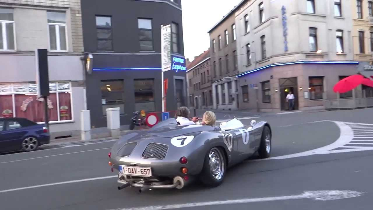 Porsche 718 Rsk Spyder Acceleration Youtube