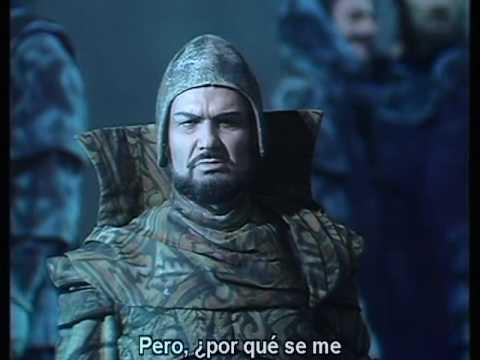 Verdi - Macbeth - Paskalis, Barstow, Morris, Erwen - Subtítulos en Español