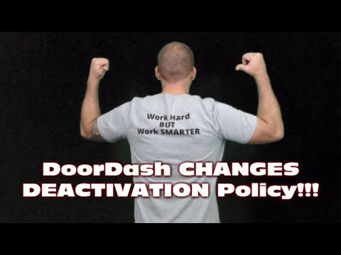 DoorDash CHANGES DEACTIVATION Policy!!!!  Taco Bell Partnership & Free Delivery Update
