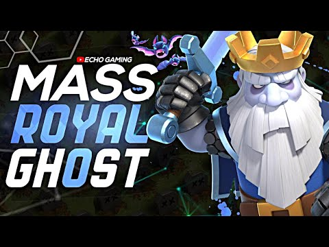 This NEW Mass Royal Ghost Attack is OP in Clash of Clans