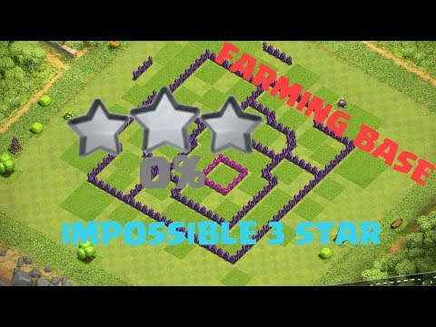 BEST FARMING BASE TH8!!!IMPOSSIBLE 3 STAR🔥🔥