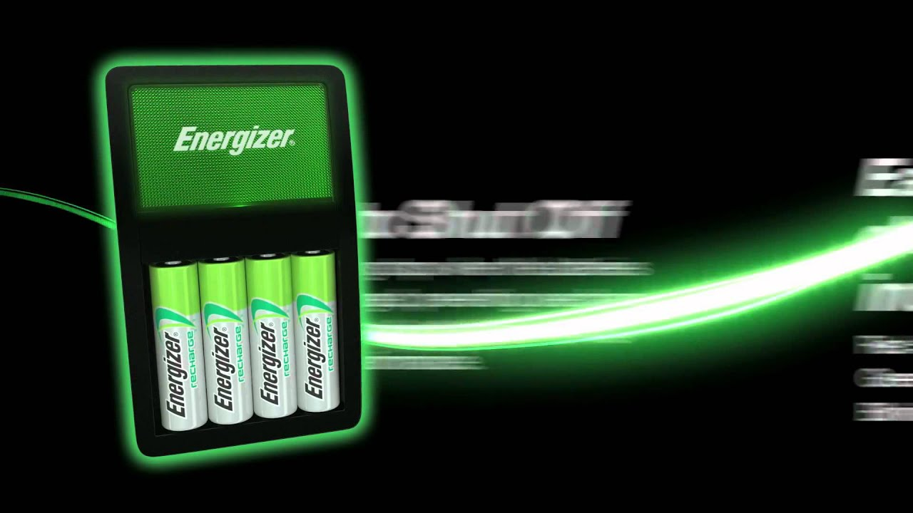 Energizer Recharge Value Charger Youtube
