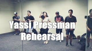Yassi Pressman Rehearsal