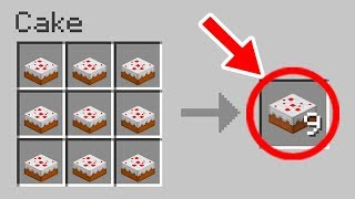 ✔ Minecraft: 15 Things You Didn't Know About the Cake