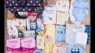 Giỏ đồ đi sinh dành cho các mẹ bầu sắp vượt cạn