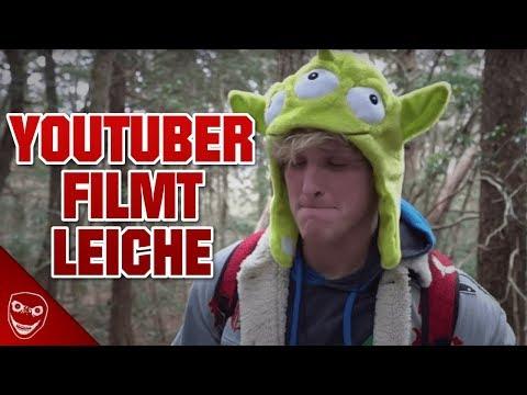 YouTuber filmt Leiche und läd es hoch! Der Logan Paul Skandal!