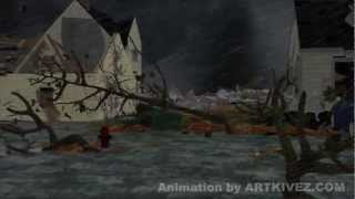 Storm Simulation Animation
