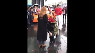 boy has public freakout after getting rejected by crush..
