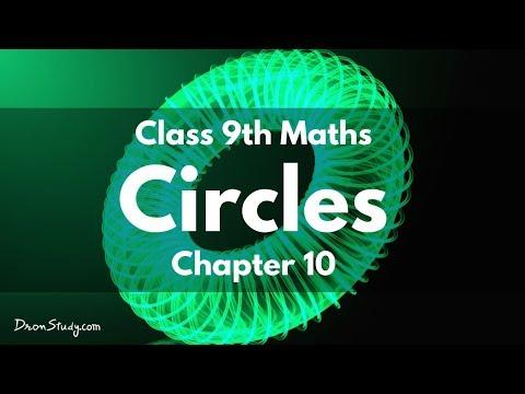 Circles : Class 9 IX Maths CBSE