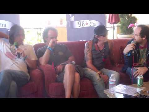 Caifanes   What's Next?  98.7 FM Coachella Interview