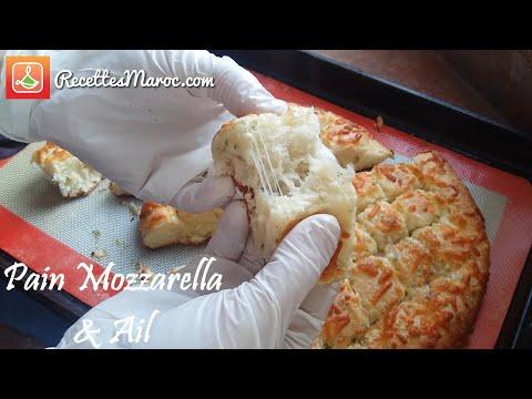 recette-pain-moelleux-au-fromage-mozzarella-&-ail