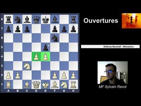 Réfutation de la Défense Marshall (1.d4 d5 2.c4 Cf6?!)