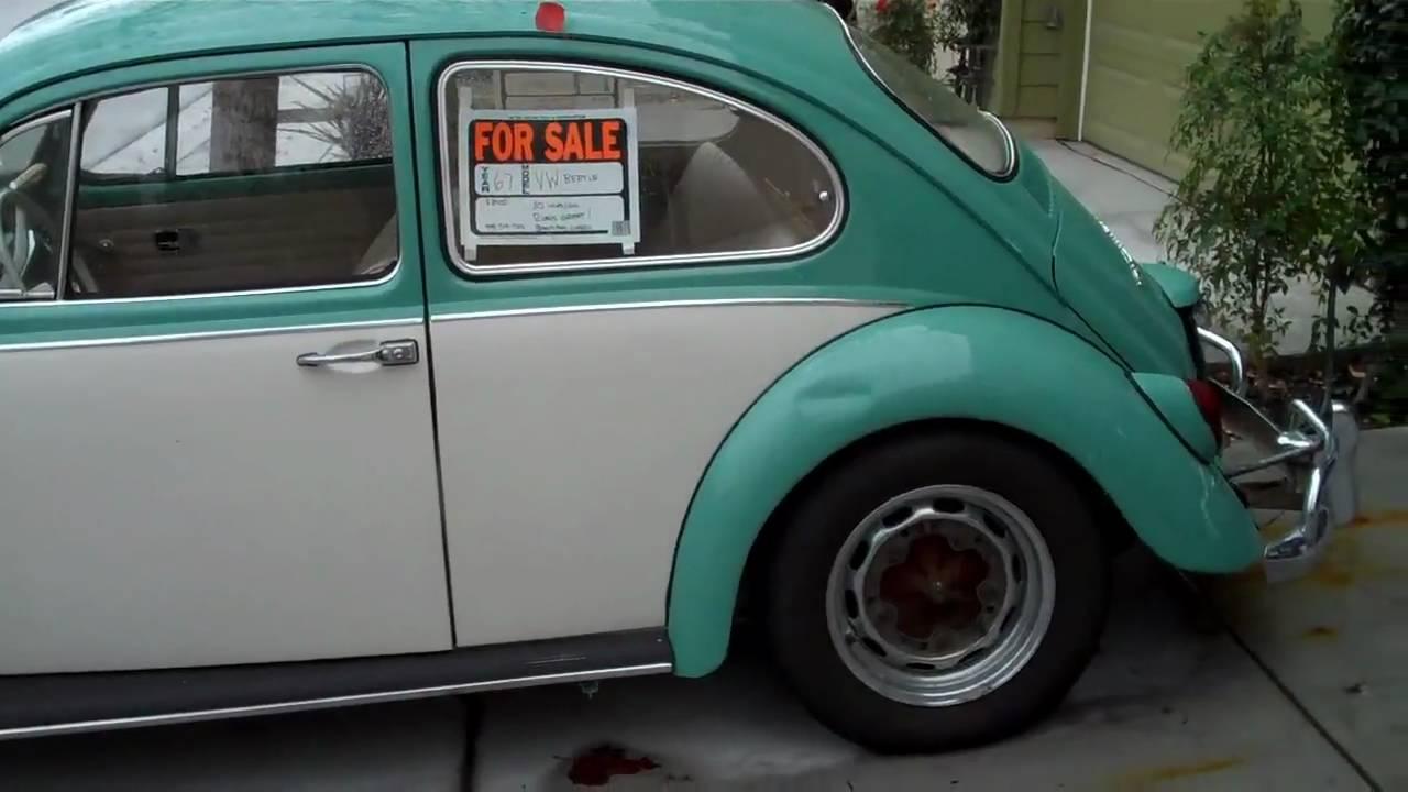 Selling my '67 VW Bug - YouTube