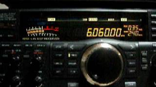6060kHz RAE Japanese language program