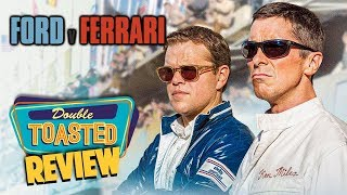 FORD V FERRARI MOVIE REVIEW - Double Toasted Reviews