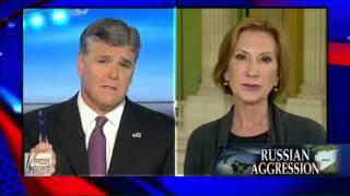US-Präsidentschaftskandidat will unbedingt Krieg mit Russland!     #Fiorina #kriegstreiber #usa