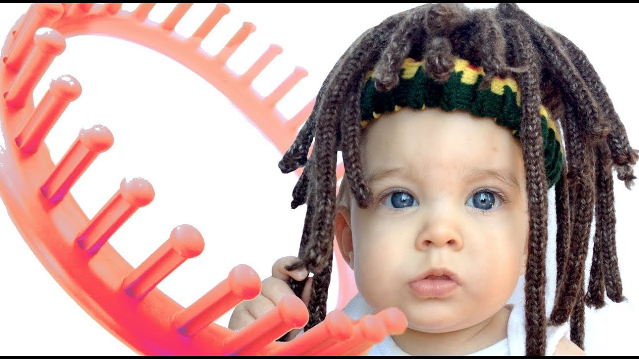 Make Beanie Hat Bob Marley Dreadlock Style