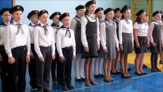 Смотр строевой песни, посвящённый 72 годовщине Дня Победы