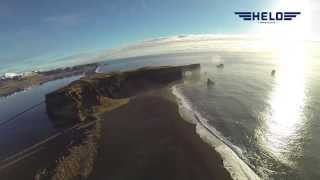 helicopter sightseeing around iceland in february helo is