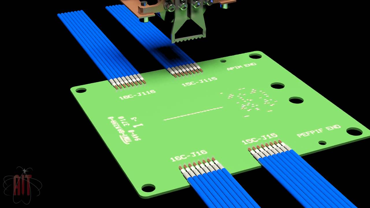 Circuit Board Paint Solder And Wire