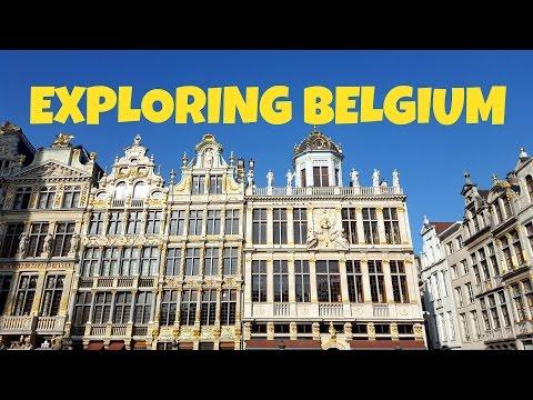 Exploring Belgium!
