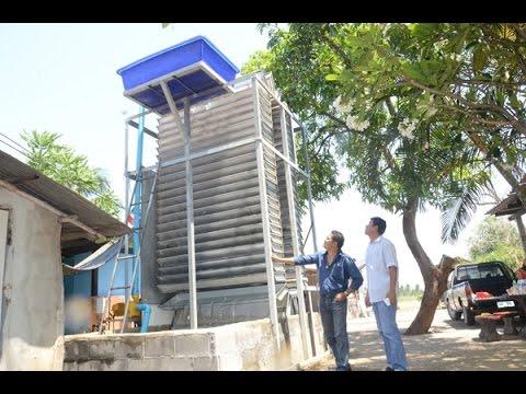 หนุ่มใหญ่เมืองกาญจน์จบ ม.6 ประดิษฐ์เครื่องผลิตกระแสไฟฟ้าพลังน้ำ 20 กิโลวัตต์ใช้ได้ทั้งหมูบ้าน