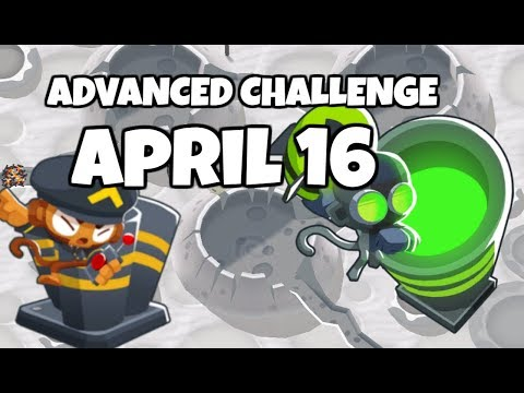 BTD6 Advanced Challenge - Mortar In The Mount - April 16 2019