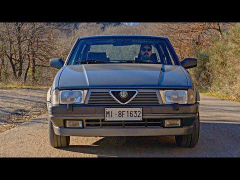 Alfa 75 2.0 TwinSpark | Pareri e Sensazioni alla Guida [ENG.SUBS]