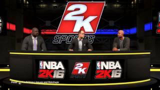 nba 2k16   funny comments about slav s between shaquille o neal ernie johnson and kenny smith