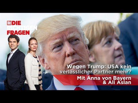 """Wegen Trump: USA kein verlässlicher Partner mehr? BILD stellt """"Die richtigen Fragen""""!"""
