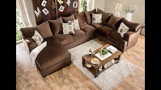 U Shaped Sectional Sofa with Chaise 1