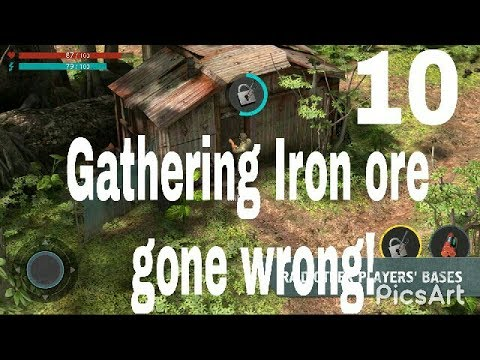 Gathering iron ore gone wrong!Last Day On Earth Gameplay Walkthrough Part 10 | Best survival game