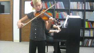 Violin Recital, Seitz Pupil