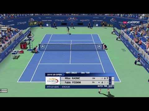 Raonic vs Fognini | Us Open R3 Solide Match! | Ép. 36 Tennis Elbow 2013