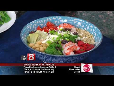 Cooking w/Julie Makes Greek Shrimp & Rice Bowls on Good Morning CT