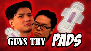 S-Periment: Guys Try Wearing Pads