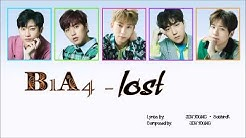 B1A4 lost [lyirc/Rom/Eng][가사/번역/듣기]