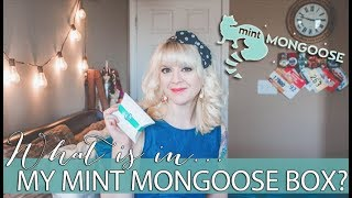 What Is In My MintMONGOOSE Box?! | Affordable Jewelry Subscription Box