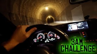 Yes, another scary tunnel drive