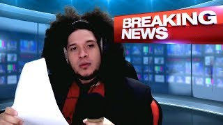 Pelo fails traveling around the world, so instead, he does the news...