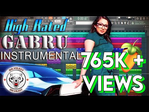 High Rated Gabru (Instrumental) | Guru Randhawa | Manj Musik | Dr