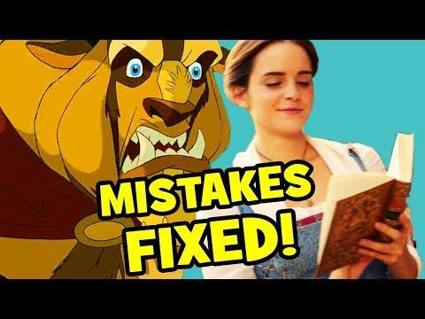 10 MOVIE MISTAKES Fixed By Beauty And The Beast