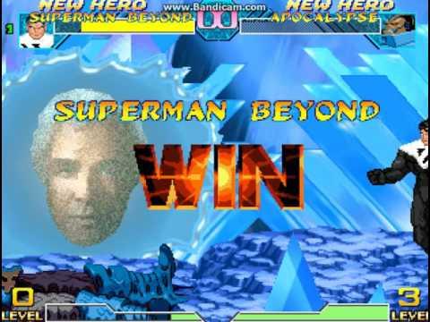 Superman Beyond VS Apocalypse
