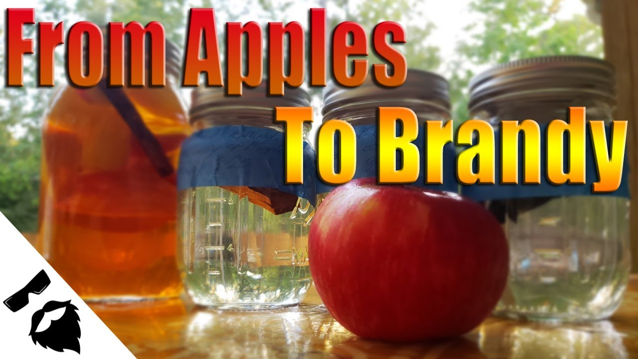 How To Make Apple Brandy Apple Pie Moonshine Youtube