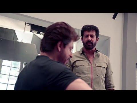 SRK Tubelight Moment with Kabir Khan in Commercial Shoot