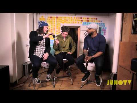 Born Ruffians: Interview - JUNO TV Vault Sessions