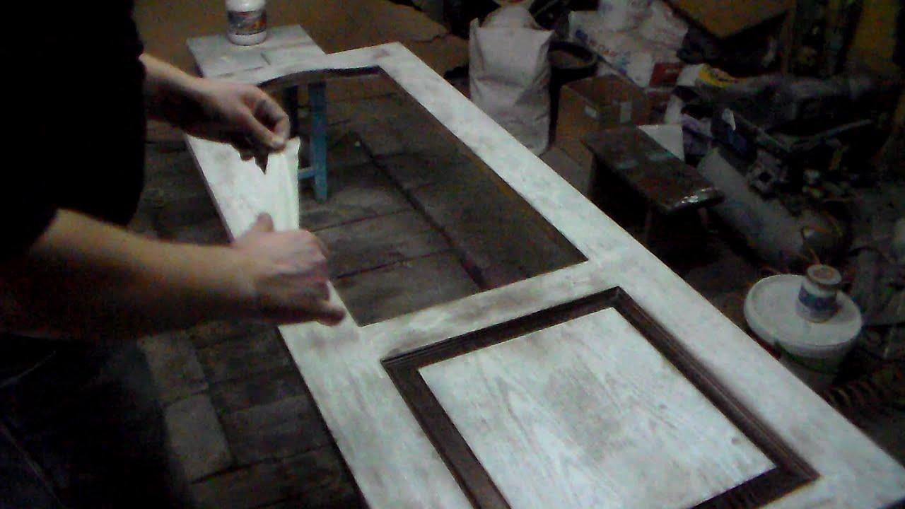 Как отреставрировать старую дверь своими руками фото 399