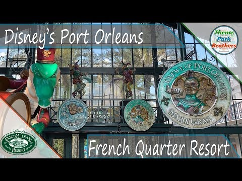 Disney's Port Orleans French Quarter Resort May 2019