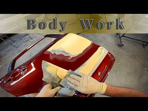 Body Repair | Prep Car Body With Putty | Spray Surfacer